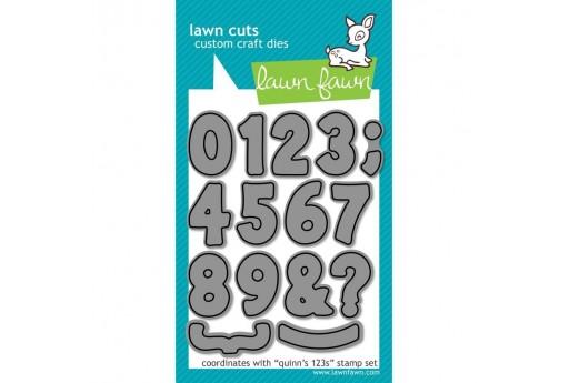 Fustelle Numeri Quinn's 123 - Lawn Fawn