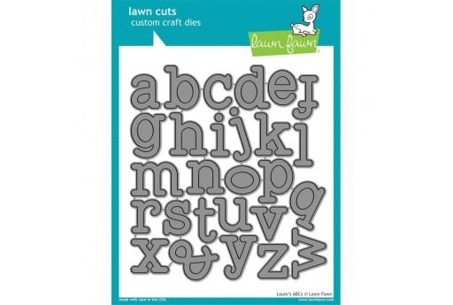 Fustelle Alfabeto Louie's ABCs - Lawn Fawn