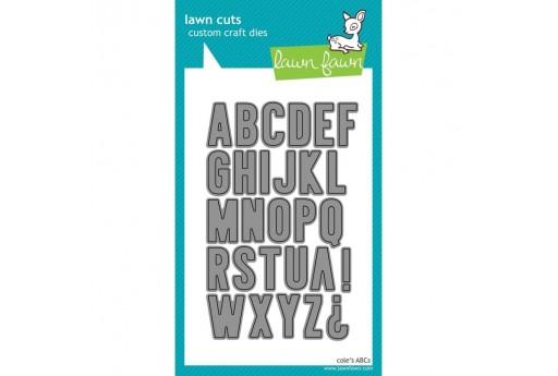 Fustelle Alfabeto Cole's ABCs - Lawn Fawn