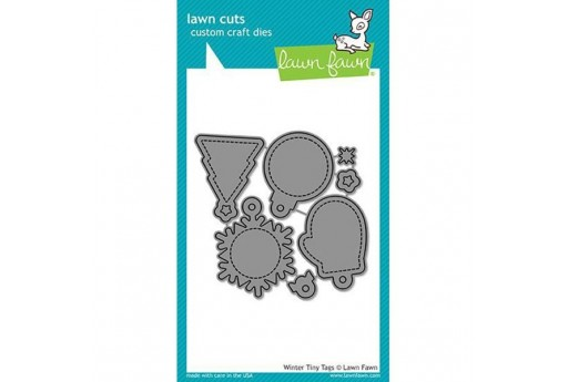 Fustelle Winter Tiny Tags - Lawn Fawn