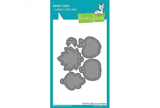 Fustelle Fall Tiny Tags - Lawn Fawn