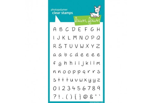 Timbri Alfabeto Jessie's ABCs - Lawn Fawn