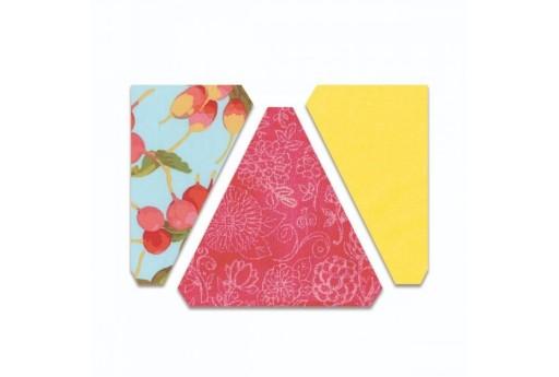 Fustella BigZ Triangoli Isoscele e Rettangolare 6.35 cm Sizzix