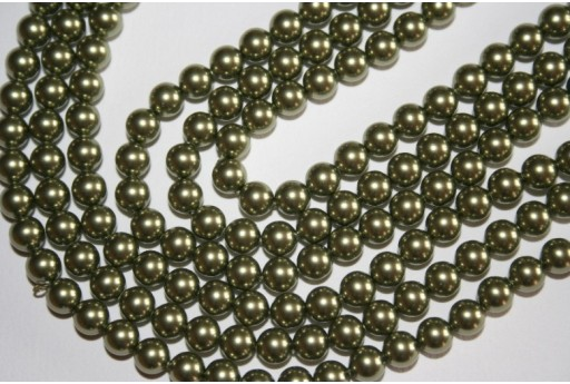 Perle Swarovski 5810 Crystal Light Green 6mm - 12pz