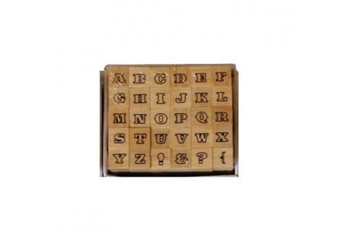 Stamps Set Alphabet Font 2 Dovecraft - 8mm - 30pcs