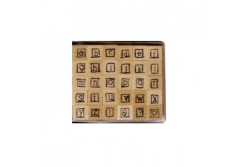 Stamps Set Alphabet Font 9 Dovecraft - 8mm - 30pcs