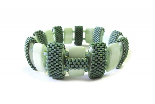 Kit Bracciale Double Carrier Chalk White Mint Luster