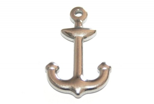 Stainless Steel Anchor Charms 26x16mm -1pcs