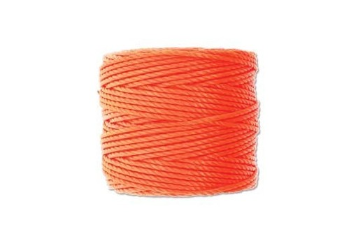 Super-Lon Bead Tex 400 Cord Neon Orange 0,90mm - 32mt