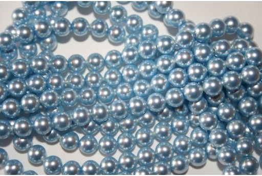 Perle Swarovski 5810 Crystal Light Blue 6mm - 12pz