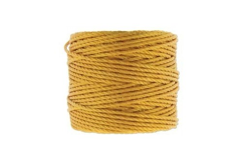 Super-Lon Bead Tex 400 Cord Light Gold 0,90mm - 32m