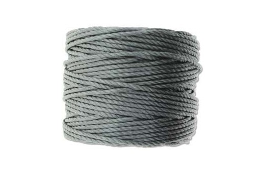 Super-Lon Bead Tex 400 Cord Grey 0,90mm - 32mt