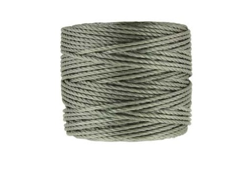 Super-Lon Bead Tex 400 Cord Gunmetal 0,90mm - 32m
