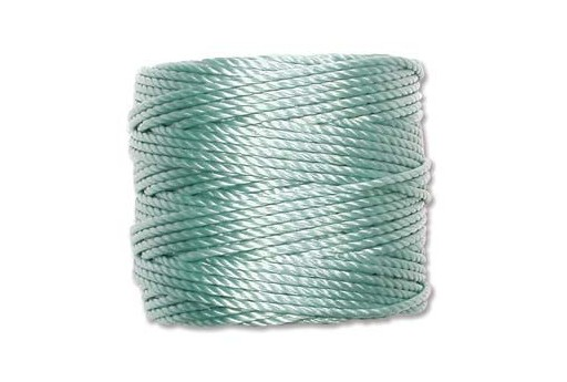 Super-Lon Bead Cord Tex 400 Turquoise 0,90mm - 32mt