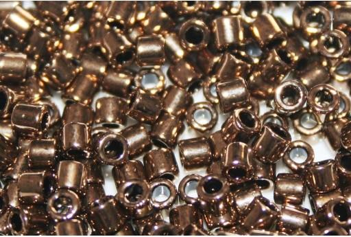 Miyuki Delica Seed Beads 8/0 - Metallic Bronze - 8gr