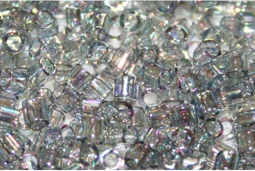 Miyuki Delica Seed Beads 8/0 - Transparent Grey Iris - 8gr