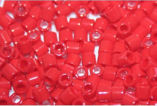 Perline Delica Miyuki 8/0 - Opaque Dark Cranberry - 8gr
