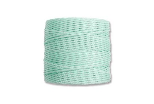 Mint Green Super-Lon Bead Cord 0,5mm - 70m