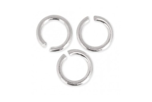 Silver Jump Rings 8x0,7mm - 10g