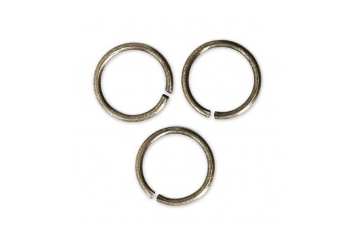 Brass Jump Ring Bronze 12x1,2mm - 20pcs