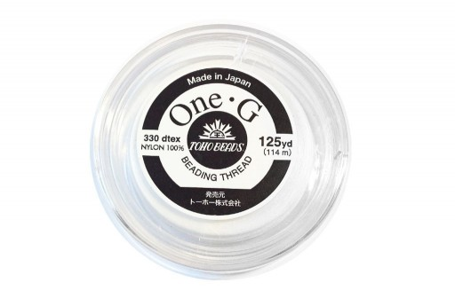 Filo Nylon Toho One-G Bianco 0,20mm - 114mt.