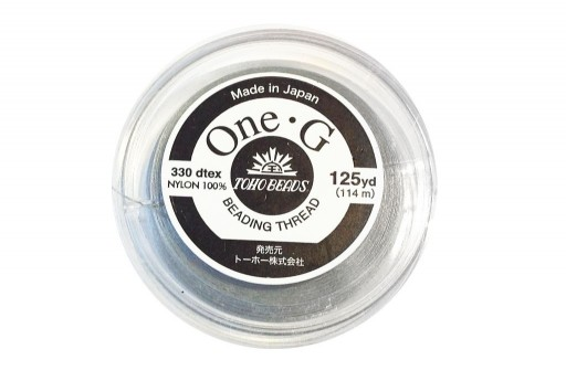 Filo Nylon Toho One-G Grigio 0,20mm - 114mt.