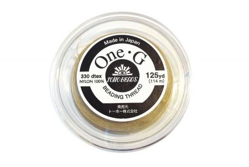 Toho One-G Nylon Thread 0,20mm Sand Ash 125yd