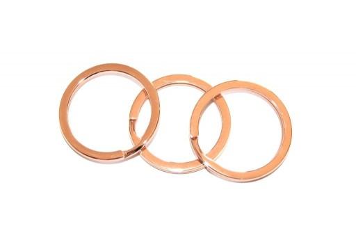 5 anelli brisé in argento 925 Minuteria in argento per collane e ciondoli