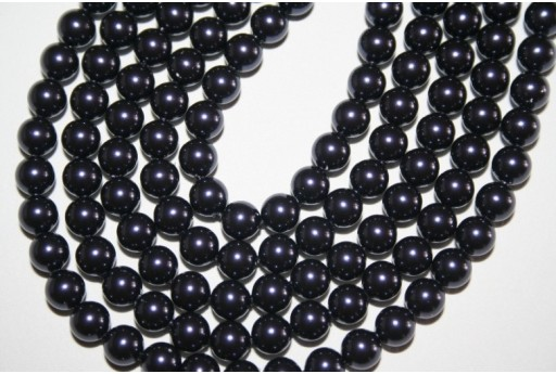 Swarovski Pearls 5810 Crystal Dark Purple 6mm - 12pcs