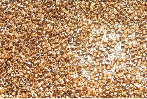 Perline Delica Miyuki 24 Karat Light Gold Plated 11/0 - 5gr