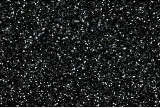 Glitter Foam A4 Sheet Black 2mm