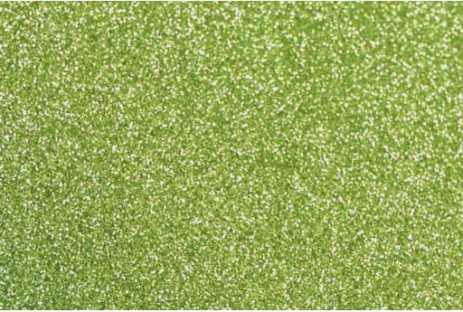 Glitter Foam Light Green A4 Sheet 2mm
