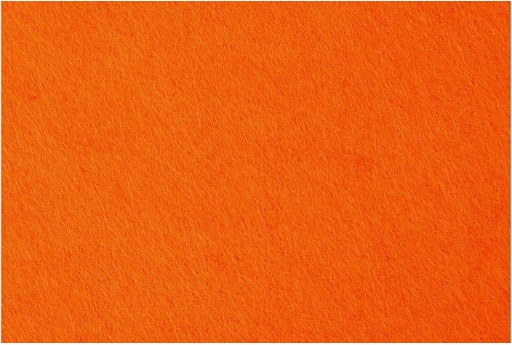 Felt Orange 3mm 42x60cm