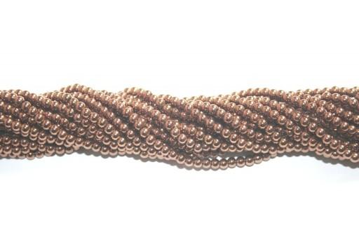 Pietre Dure Hematite Sfera - Bronzo 3mm - 138pz