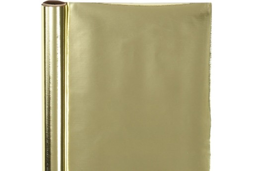Wrapping Paper Gold with Stripes 50cm x 4mt