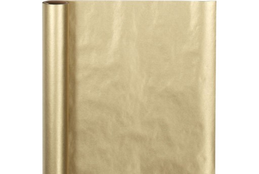 Wrapping Paper Opaque Gold 50cm x 5mt