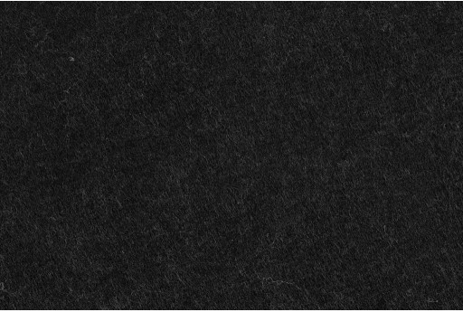 Soft Felt 1,5mm Melange Black 45cm x 1mt