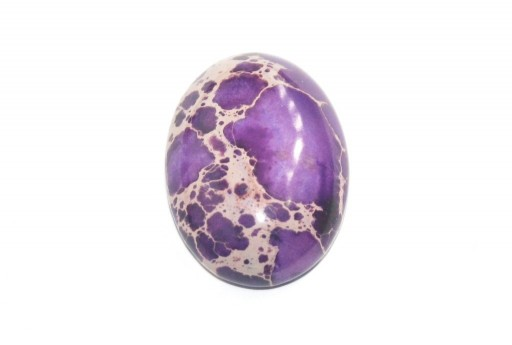 Dyed Impression Jasper Cabochon Purple - Oval 22X30mm