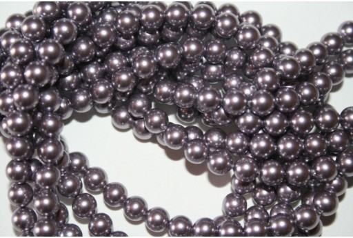 Swarovski Pearls 5810 Crystal Mauve 6mm - 12pcs