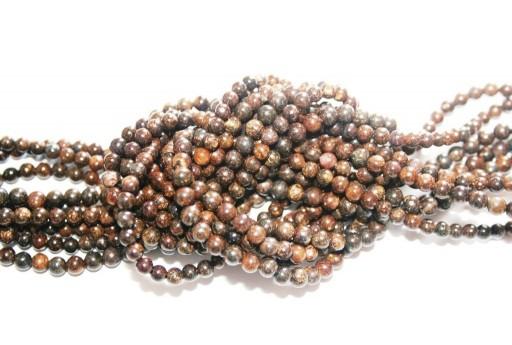 Bronzite Beads Sphere 4mm - 96pz