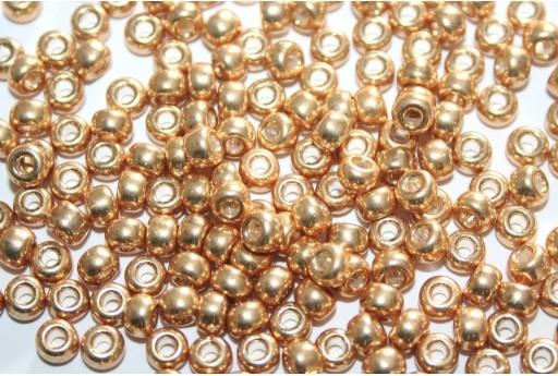 Perline Miyuki Rocailles - Galvanized Gold 6/0 - 10gr