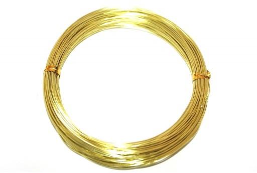 Aluminium Wire Yellow 0,8mm - 20m