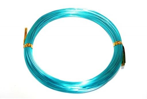 Aluminium Wire Aquamarine 0,8mm - 20m