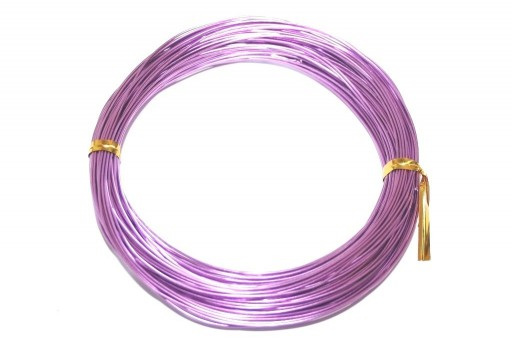Aluminium Wire Light Purple 0,8mm - 20m