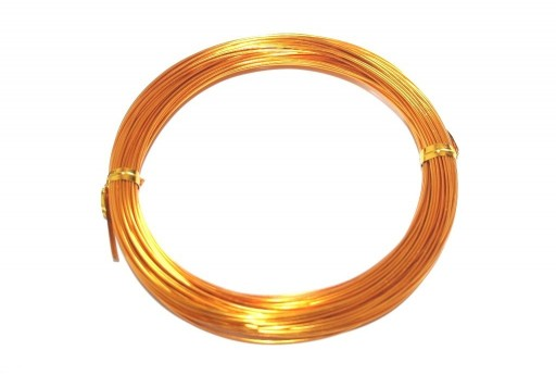 Aluminium Wire Orange 0,8mm - 20m