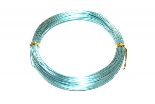 Aluminium Wire Light Aqua 0,8mm - 20m