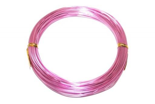 Filo di Alluminio Rosa 1mm - 20mt