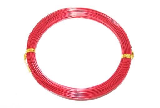 Filo di Alluminio Rosso 1mm - 20mt