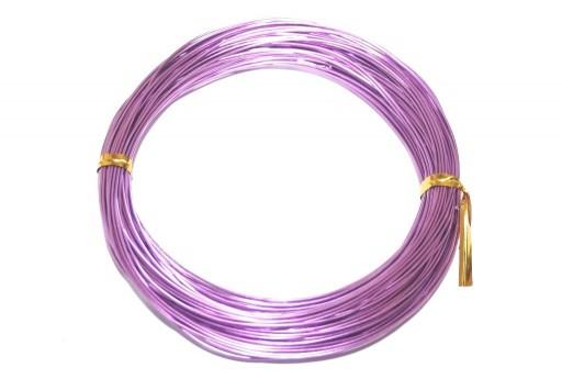 Filo di Alluminio Viola Chiaro 1mm - 20mt