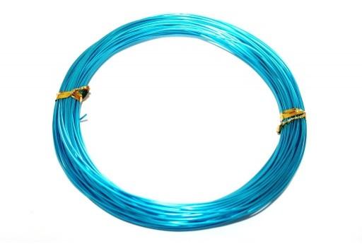 Filo di Alluminio Azzurro 1mm - 20mt